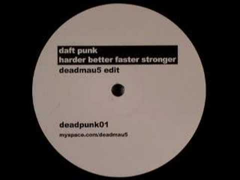 daft punk - harder better faster stronger (deadmau5 edit)
