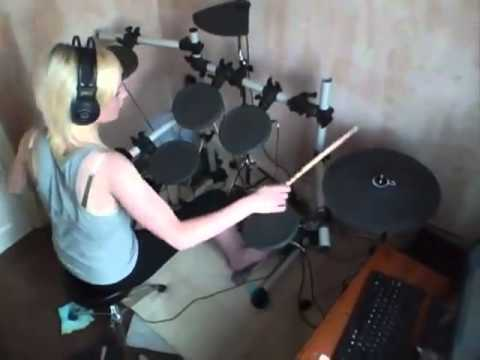 Kesha - Tik Tok (Drum cover by Kayleigh Rogerson)