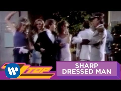 ZZ Top - Sharp Dressed Man (OFFICIAL MUSIC VIDEO)