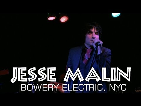 THE OUTLAW ROADSHOW: Jesse Malin live Bowery Electric, NYC 10/18/13 CMJ FULL SET