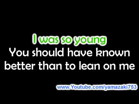 Kelly Clarkson - Because of you - Karaoke