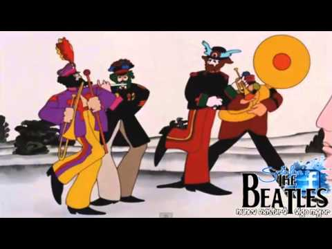 The Beatles - Yellow Submarine (Video from 1968 Movie) HD