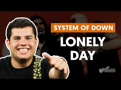 System Of A Down - Lonely day  guitar lesson