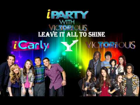 Leave It All To Shine - Miranda Cosgrove y Victoria Justice - iParty with Victorious