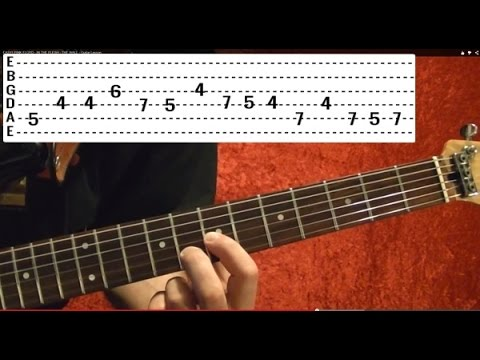 EASY METALLICA! - NOTHING ELSE MATTERS ( 1 of 4 ) - Free Online Guitar Lessons With Tabs