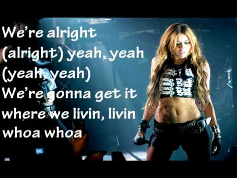 Miley Cyrus Liberty Walk Lyrics HQ