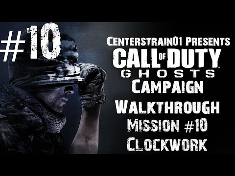 Call Of Duty: Ghosts - Campaign Walkthrough - Mission #10 - Clockwork