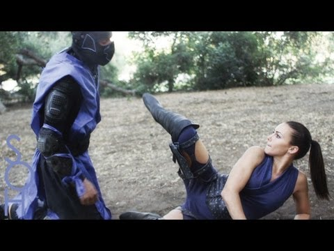 Sub Zero, Scorpion, Kitana Fight! - Mortal Kombat x SOH