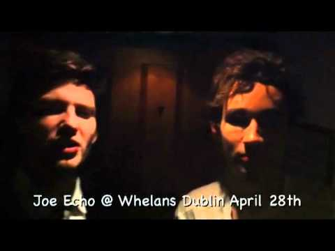 Ben Barnes and Robert Sheehan talk about Joe Echo's upcoming gigs
