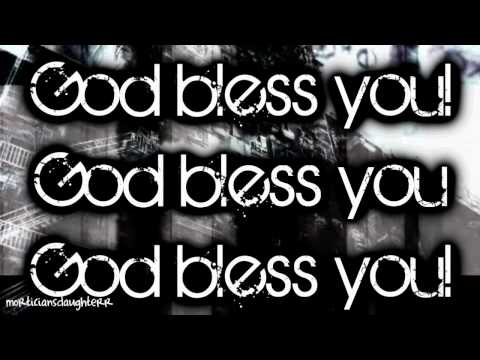 God Bless You - Black Veil Brides (FULL) Lyrics