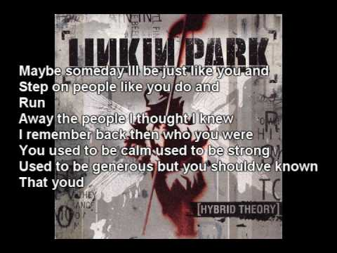 Linkin Park - A Place For My Head (lyrics In vid and description)