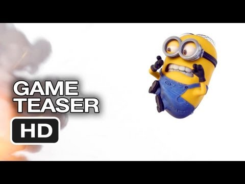 Despicable Me: Minion Rush Official Game Teaser Trailer (2013) HD