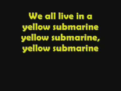 The Beatles-Yellow Submarine lyrics
