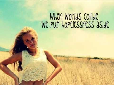Zara Larsson - When Worlds Collide lyrics (full new song 2013) Introducing - EP