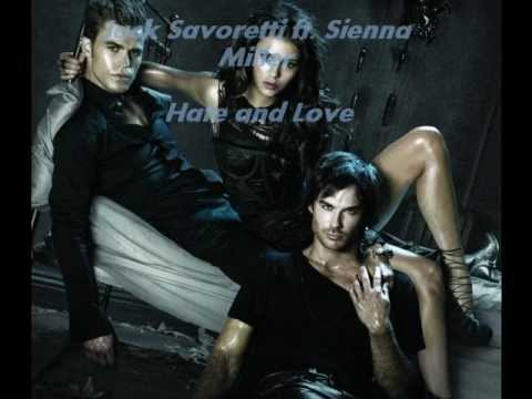 the vampire diaries music-hate and love- jack savoretti ft. sienna miller.