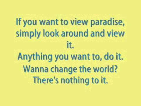 Pure Imagination - Maroon 5 (with lyrics)