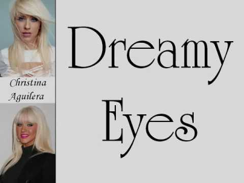 Christina Aguilera Dreamy Eyes