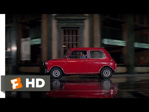 Mini-Cooper Chase - The Italian Job (6/10) Movie CLIP (1969) HD