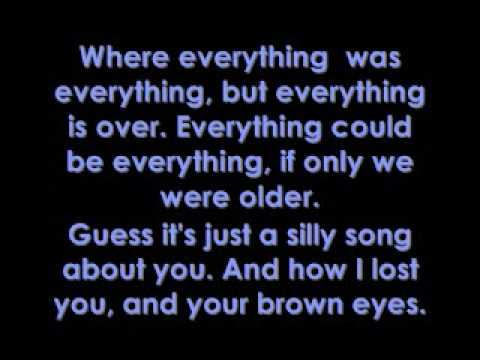 Brown Eyes - Lady GaGa Lyrics