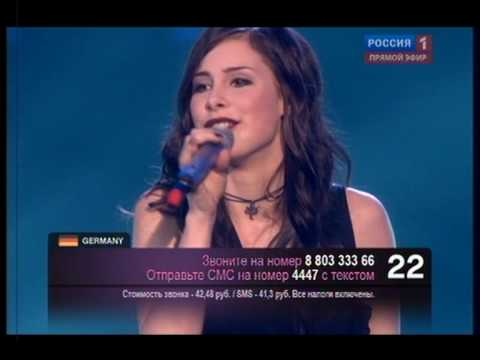 WINNER EUROVISION 2010 GERMANY - Lena Meyer-Landrut - Satellite .