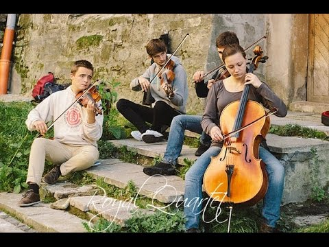 Royal Quartet - 'The Show Must Go On' (Beautiful Violin cover by Queen) #FolkRockVideo