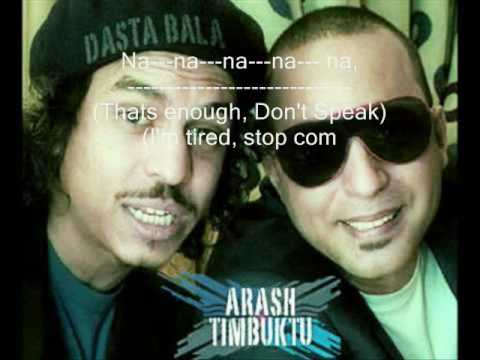 Arash   Baskon feat  Timbuktu - آراش