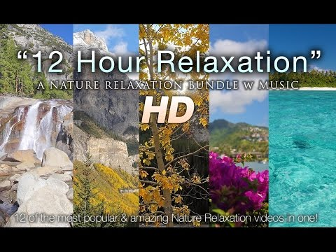 ALL DAY NATURE RELAXATION w/ Music - Mountains, Forests, Oceans, & More 1080p