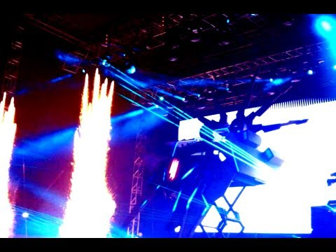 Skrillex Guadalajara 2012 - The Mothership Tour Mexico - HD
