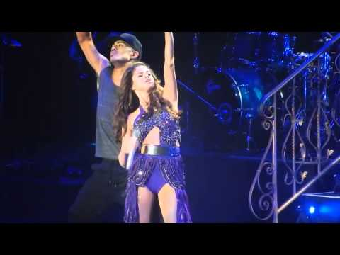 Selena Gomez Singing Whiplash Prudential Center Newark, NJ 10/20/2013