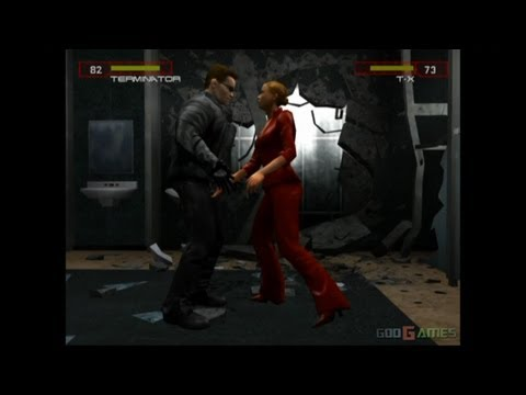 Terminator 3: Rise of the Machines - Gameplay PS2 HD 720P