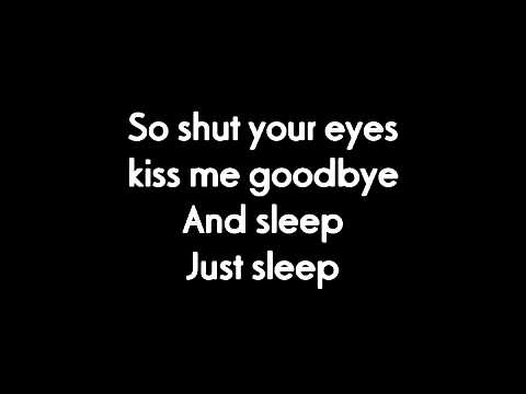 My Chemical Romance-Sleep-(Lyrics)