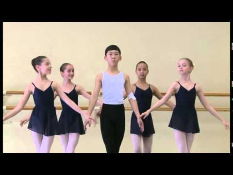 Vaganova Ballet Academy. Historical dance. 2nd class. 2013.