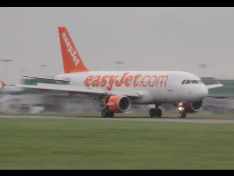 Easyjet | smooth landing | London Stansted airport | Мягкая посадка