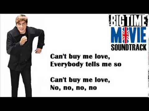 Big Time Rush Can't Buy Me Love Lyrics
