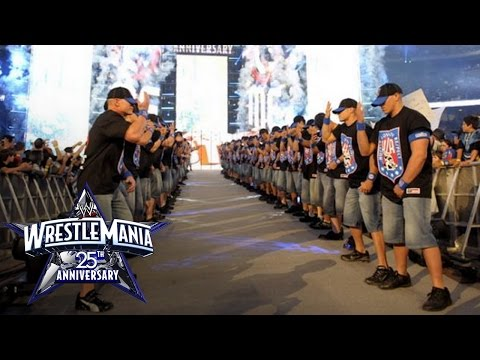 John Cena's 25th Anniversary of WrestleMania Entrance
