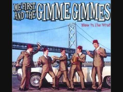 Me first and the gimme gimme's - My boyfriend's back (The Angels)
